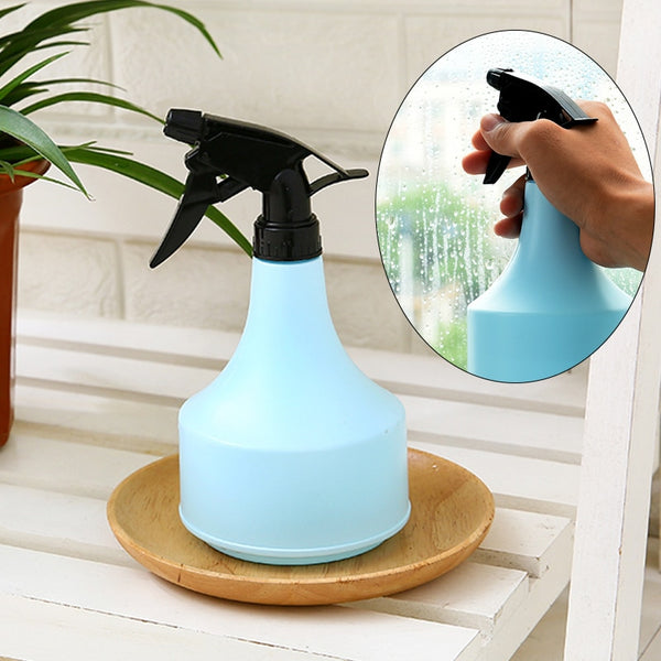 Sprayer Pot Cleaning Tool Watering Can Watering Kettle Durable Practical Hand Pressure Indoor Home & Garden ABS Bule Pink