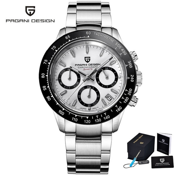\New Men's Watches Quartz Business watch Mens Watches Top Brand Luxury Watch Men Chronograph Relogio Masculino