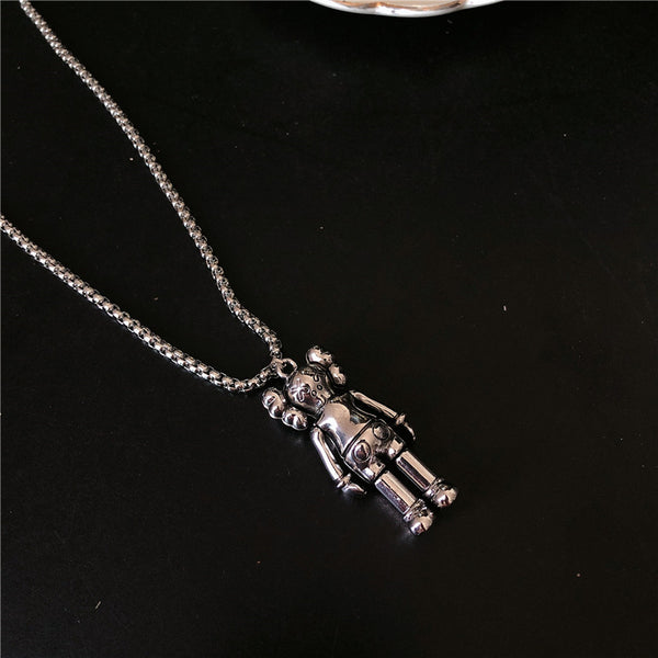 Fashion trend necklace personality hip hop couple pendant men and women accessories hot sale