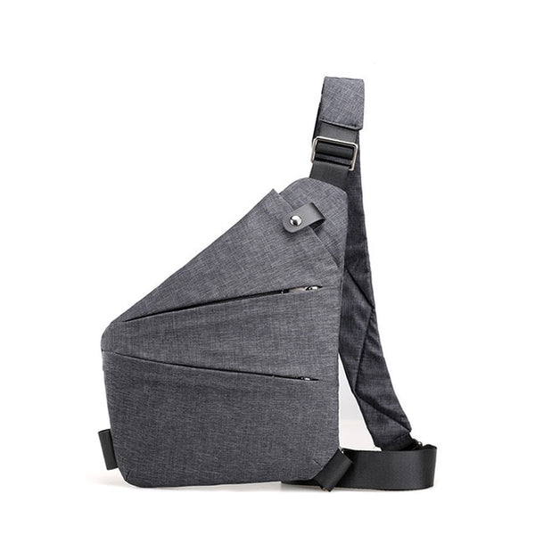 Anti-theft Chest Bag Male Thin Chest Pack Holster Men Bag Sling Personal Pocket Pauch Purses Man Shoulder Strap Hand Bags