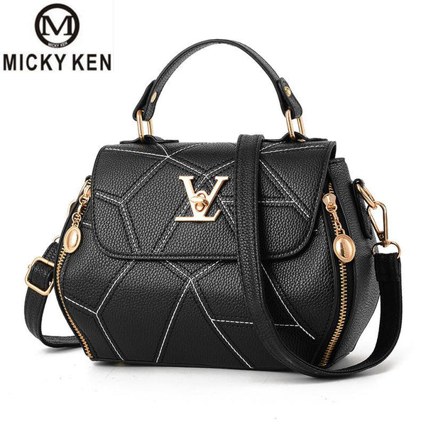 Women's Luxury Leather Clutch Bag Ladies Handbags Brand Women Messenger Bags Sac A Main Femme Famous Tote Bag