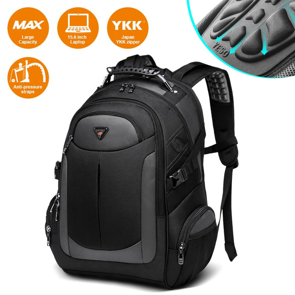 YESO Brand Laptop Backpack Men's Travel Bags 2019 Multifunction Rucksack Water Resistant Black Computer Backpacks For Teenager