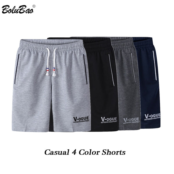 BOLUBAO Fashion Brand Men Shorts 2020 Summer Male Printing Casual Drawstring Shorts Men's Breathable Comfortable Shorts