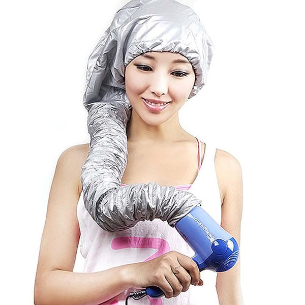 Hair Mask Baking Oil Cap Hat Hair Dryers Heat Practical Security Hair Care Treatment Beauty Steamer SPA Heated Hood Cap