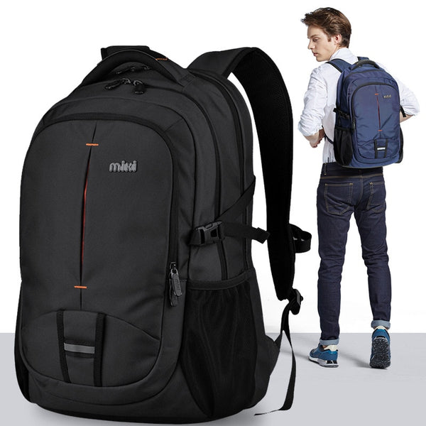 Mixi Men Backpack Bag College Student Computer Bag Female Travel Boys Work Waterproof Fashion School University Backpack