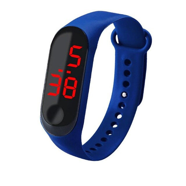 New Arrival Unisex Women Watch Waterproof Touch Screen Feel Screen Led Sports Fashion Electronic Watch High Quality Kol Saati #W