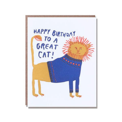 Great Cat Birthday