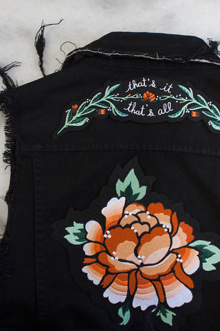 Burst & Bloom Iron-On Patch