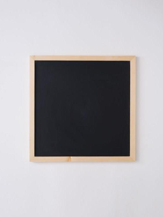 Chalkboard Slate Magnetic Erasable Tempered Glass Pale Yellow