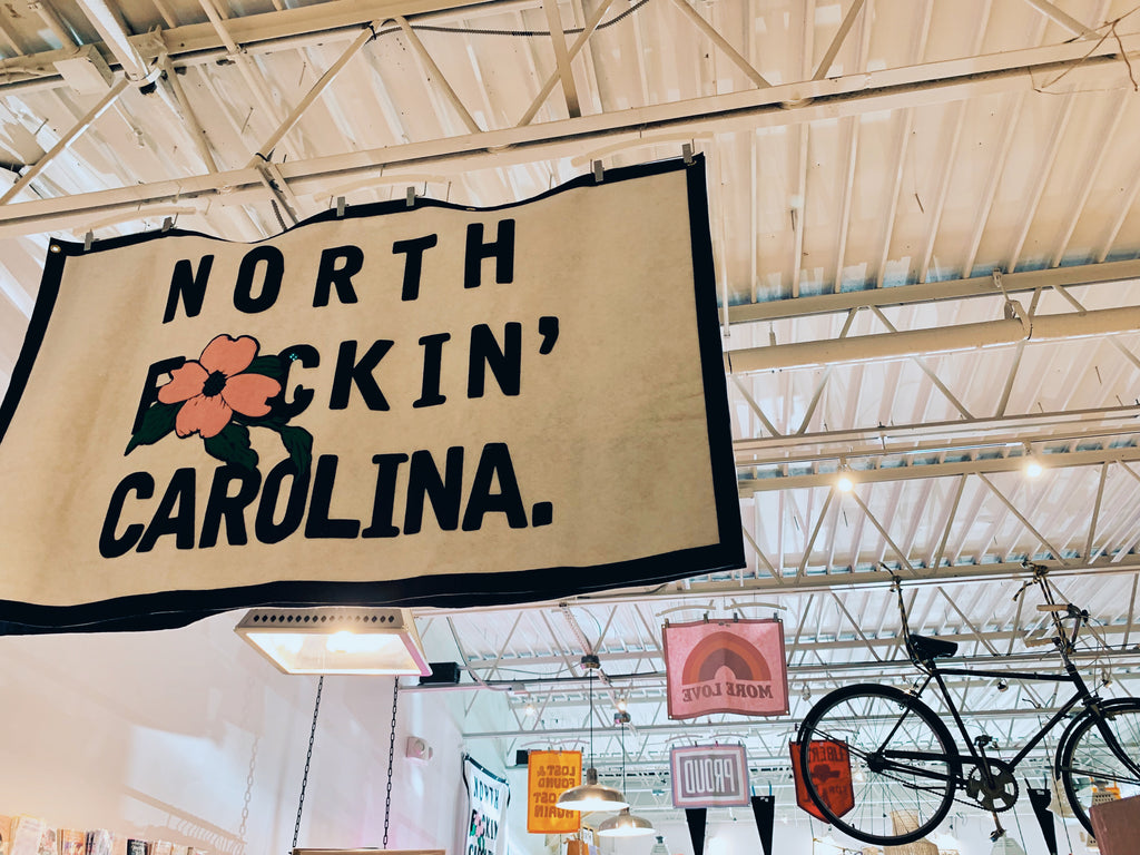 North Carolina Dogwood 3x5 Flag