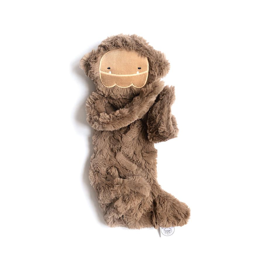 Silken Brown Bigfoot Snuggler