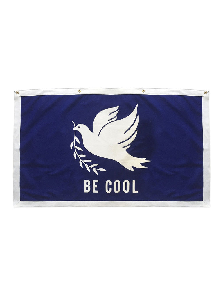 Be Cool Championship Banner - Peace