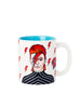 Ceramic Mug: Rebel David Bowie