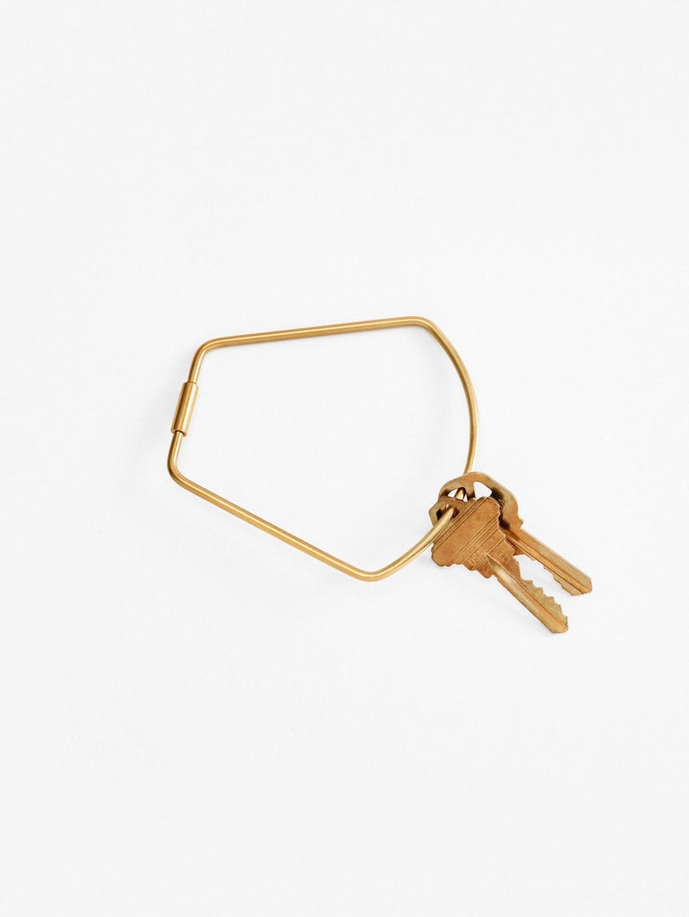 Contour Key Ring: BELL