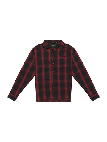 Zeus Plaid Shirt: Red