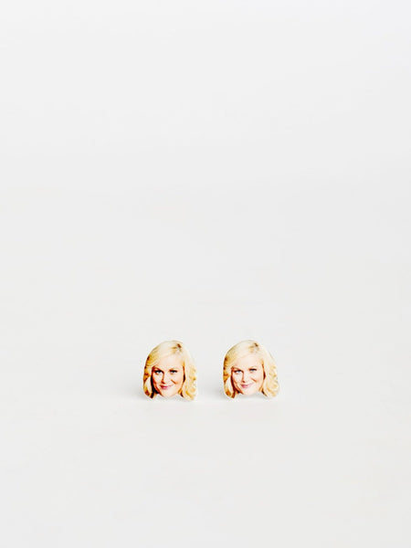 sleepy mountain leslie knope parks and recreation earrings