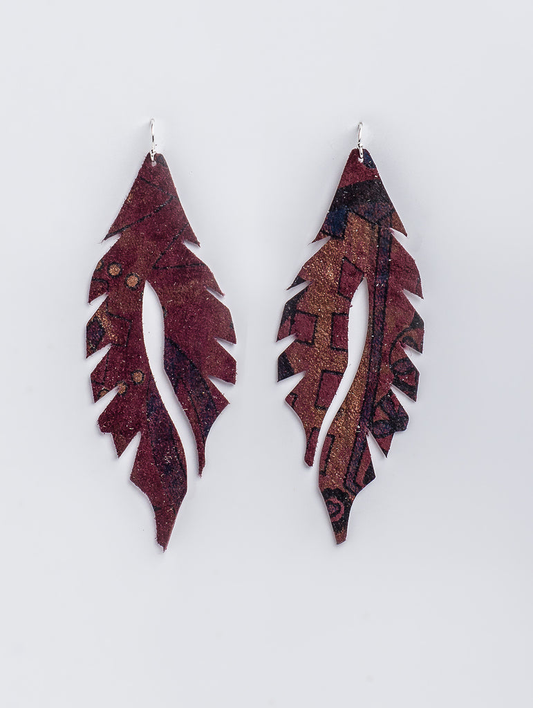 Maroonie Feather Minis by Edge of Urge