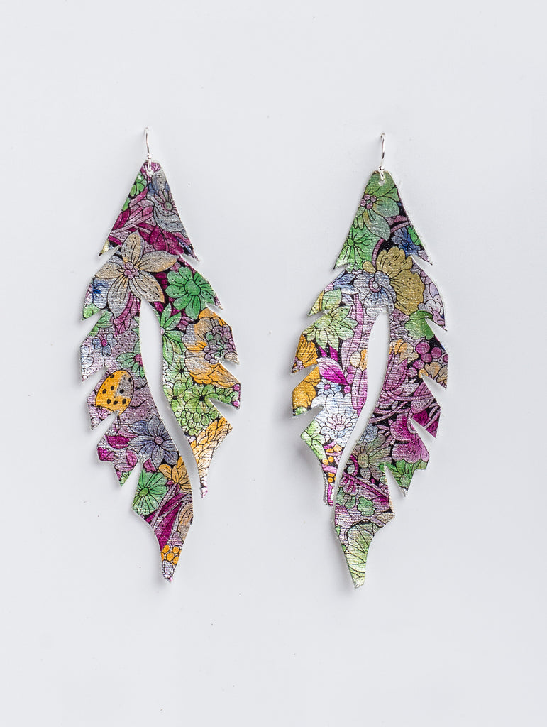 French Floral Feather Minis by Edge of Urge