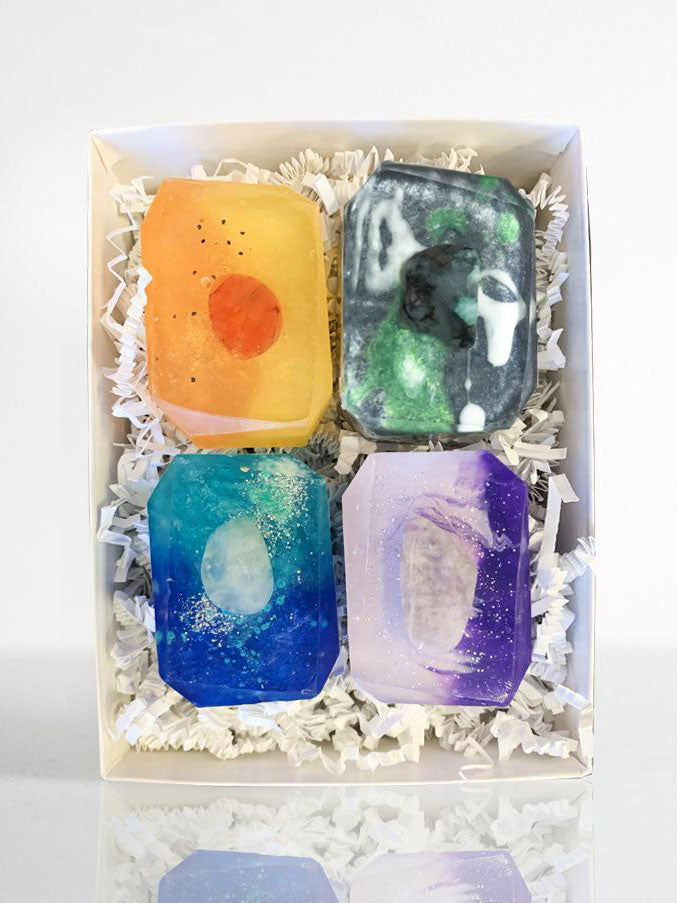 Crystal Bar Soap Element Collection