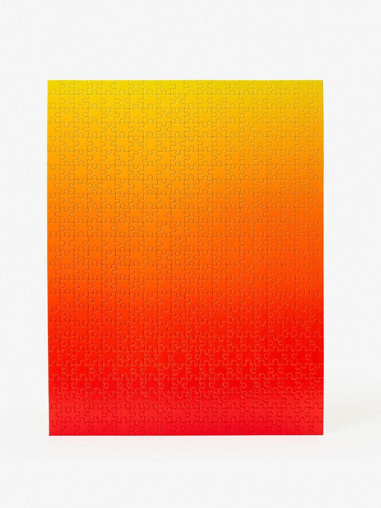 Gradient Puzzle: Red/Yellow