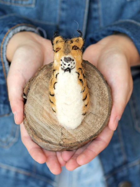 cody foster fake felted lynx trophy