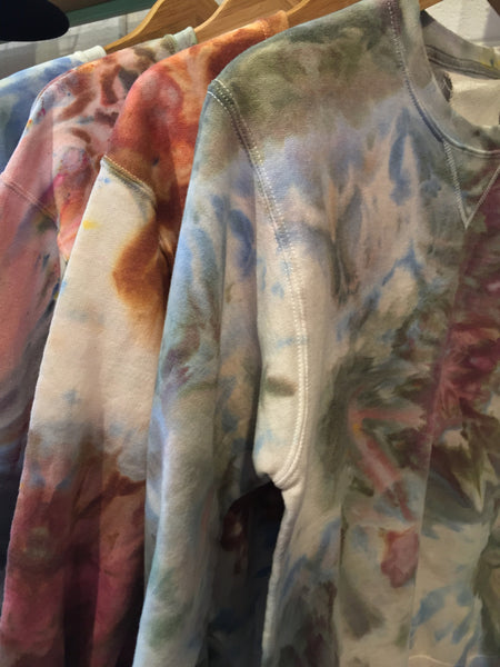 Hand-Dyed Oversized Jumper