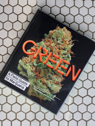 green a field guide to marijuana book