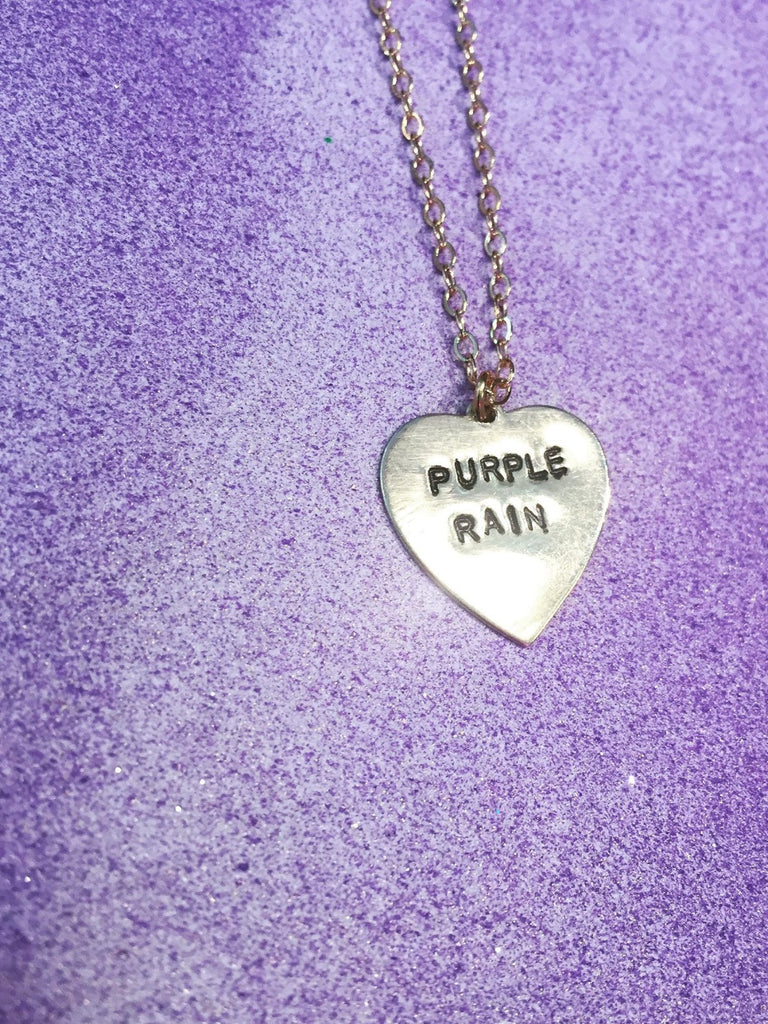 Purple Rain Necklace