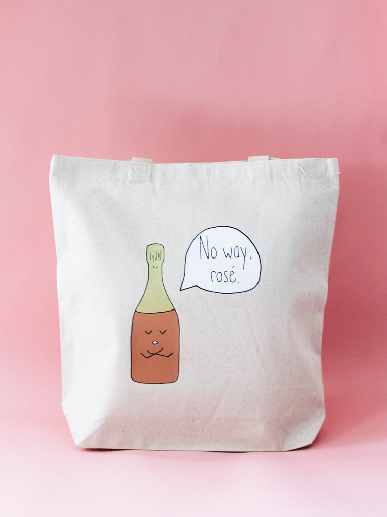 Canvas Bag with Illustration