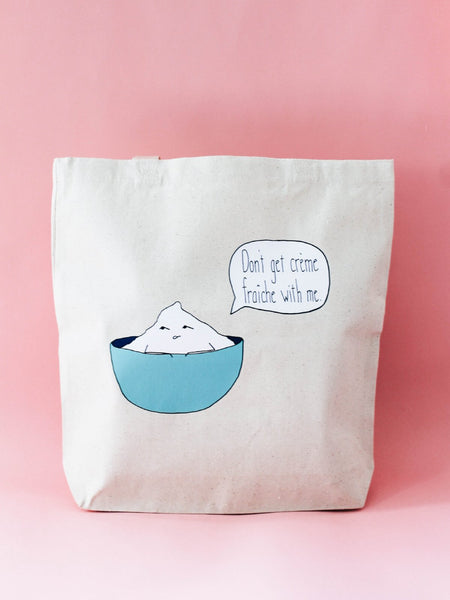 Canvas bag with Pun