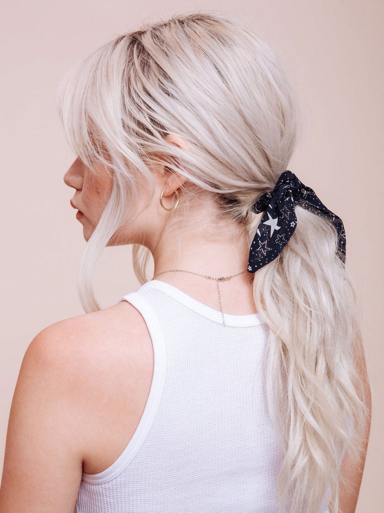 Scrunchie Tie: Midnight Special