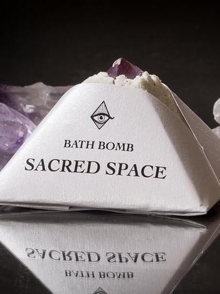 magic fairy candles sacred space bath bomb shower bomb