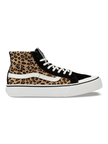 Sk8-Hi 138 Decon SF Mini Leopard Suede/Marshmallow