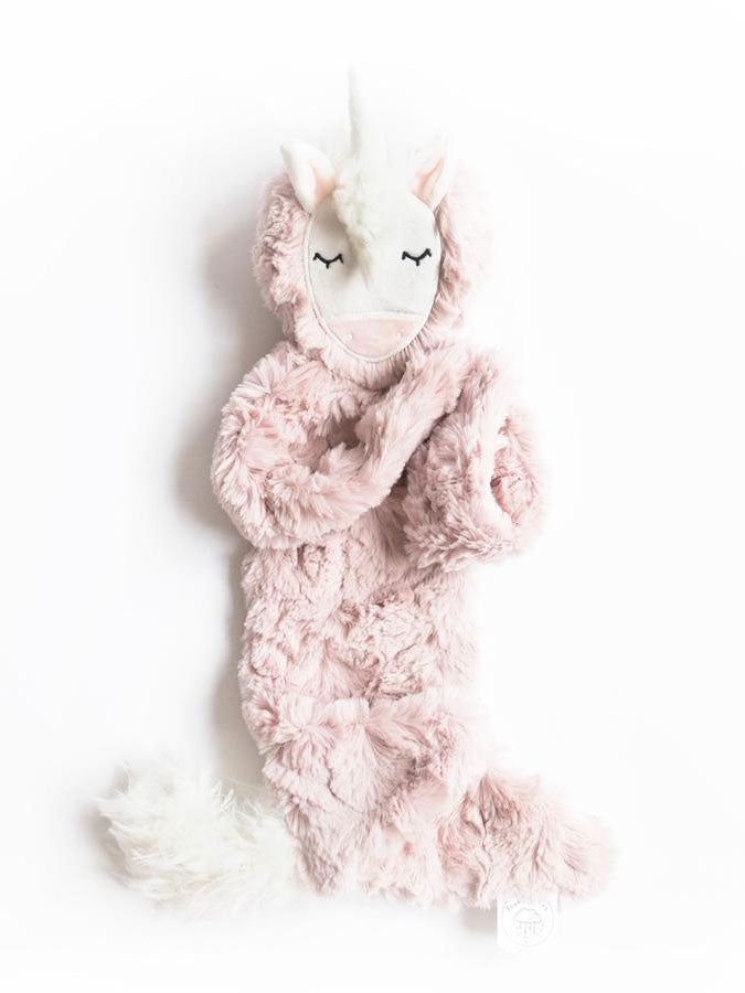 Silken Rose Unicorn Snuggler