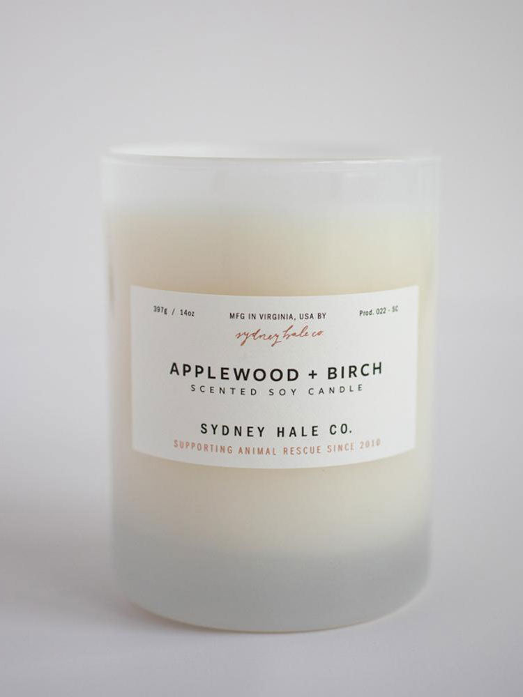 Applewood + Birch Soy Candle