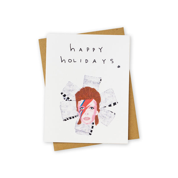Bowie Christmas Card