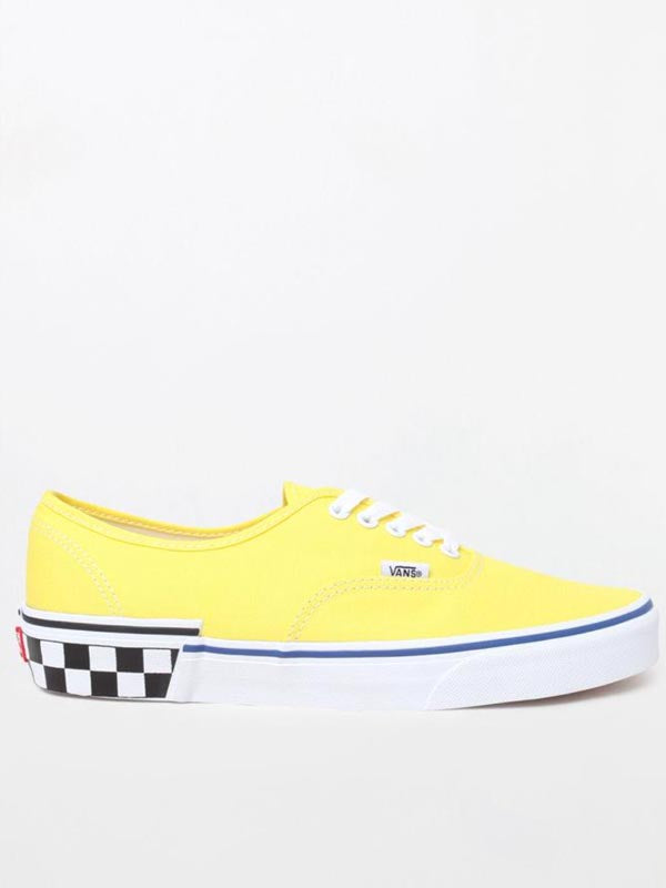 UA Authentic: Check Block Blazing Yellow