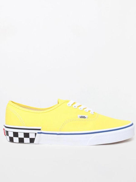 Authentic: Check Block Blazing Yellow