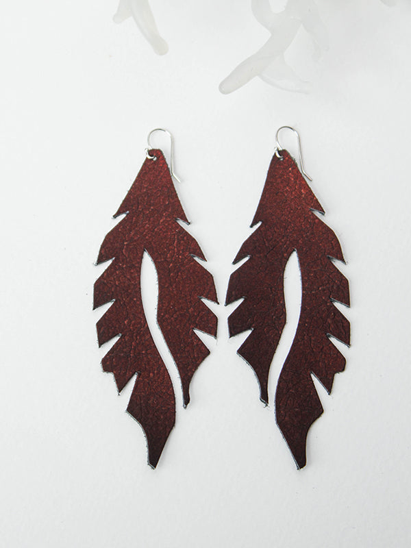 Leather Feather Minis: Velvety Dreams