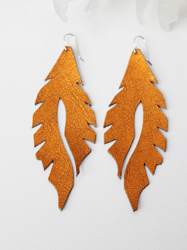 Leather Feather Minis: Ziggy Stardust