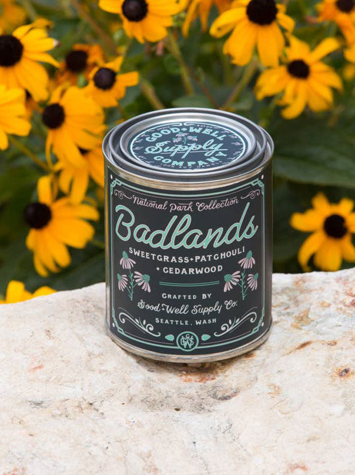 National Park Collection: Badlands Candle 8oz.