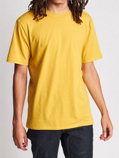 Basic S/S Prem Tee: Nugget Gold