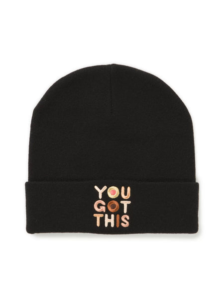 Breast Cancer Awareness Beanie: You Got This