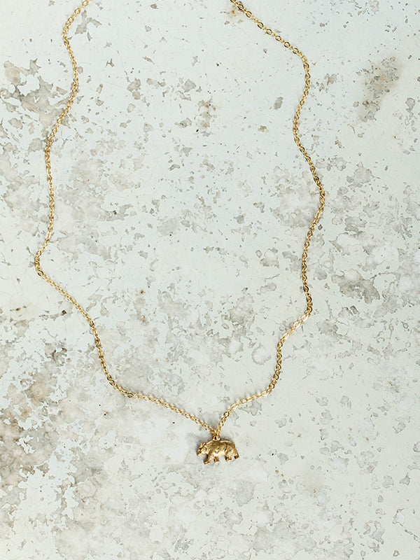 Lover Necklace: Bear
