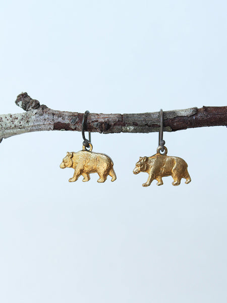bear earrings