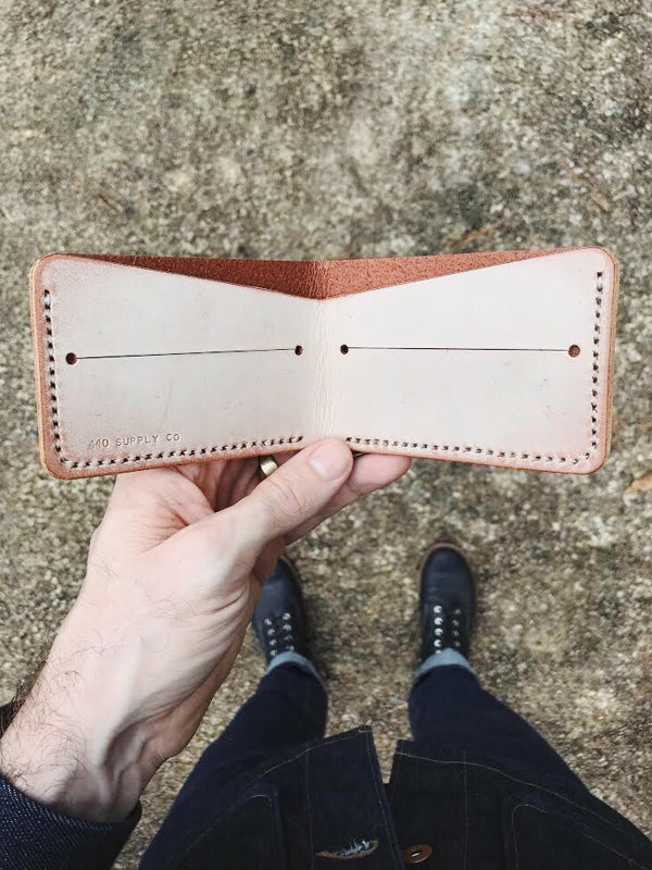 Bi-Fold Wallet: Ghost Chestnut