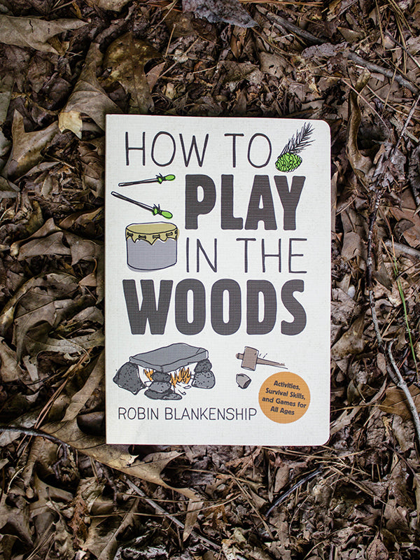 how to play in the woods book