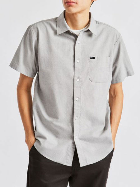 Charter Oxford S/S Woven: Grey