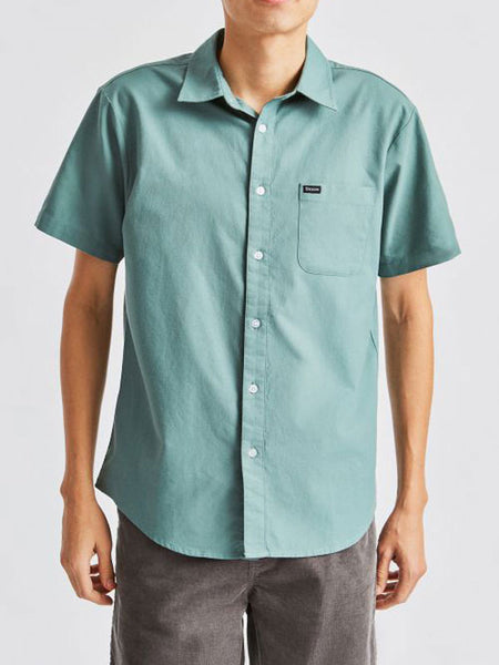 Charter Oxford S/S Woven: Jade