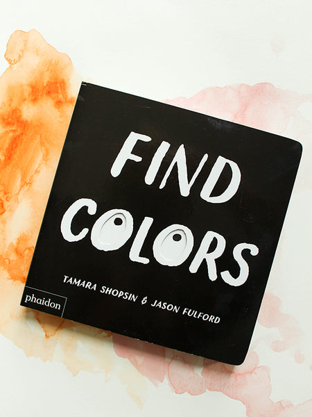 Find Colors Interactive Book for Kids